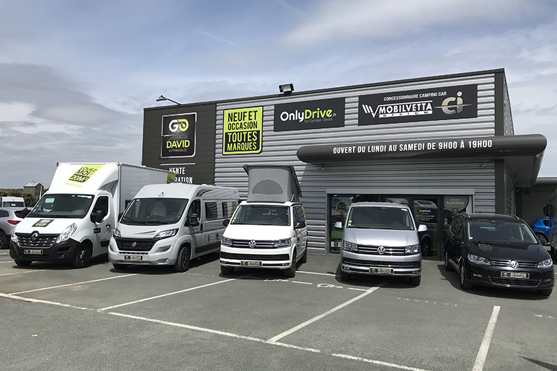 Agence de location Onlydrive Garage david Saint Fulgent en Vendée