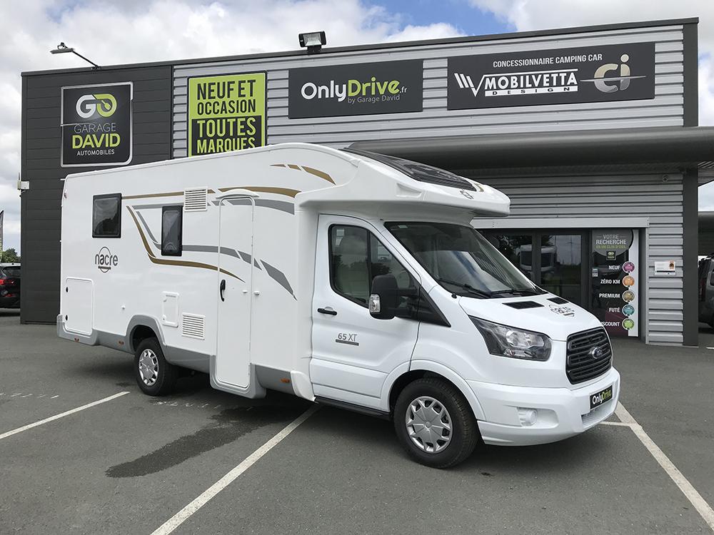 Vente et location Camping-car Profilé CI Nacré 65XT Edition Spéciale 2018 au Garage David à Saint Fulgent en Vendée