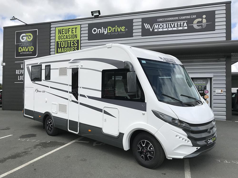 Vente Camping-car profilé Mobilvetta K-Silver i59 - 2018 au Garage David à Saint Fulgent en Vendée