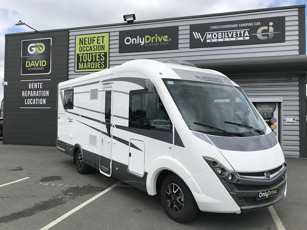 Vente Camping-car Intégral Mobilvetta K-Yacht Tekno Line 79 - 2018 au Garage David à Saint Fulgent en Vendée