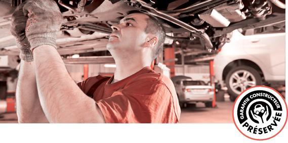 Entretien mécanique d'une voiture